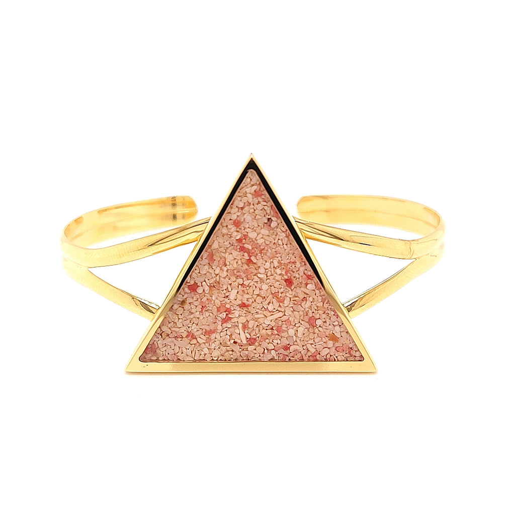 Vermeil Triangle Bangle - TB965VERM