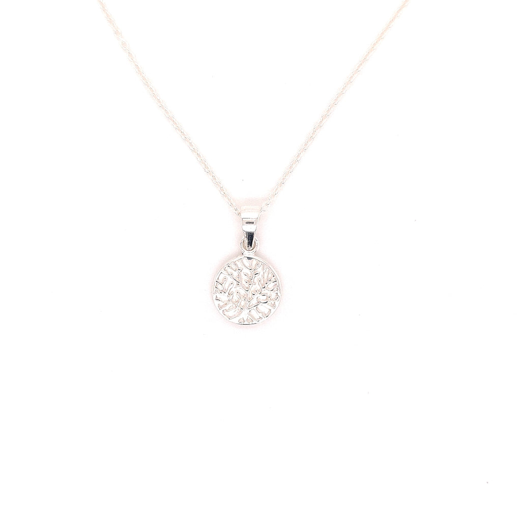 "Crisson Original 18"" Tree of Life Necklace in Sterling Silver - TN830 18"""