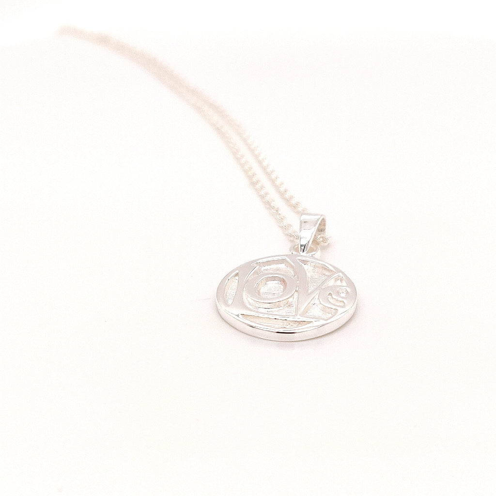 "Crisson Original 18"" Love Necklace in Sterling Silver - TN838 18"""