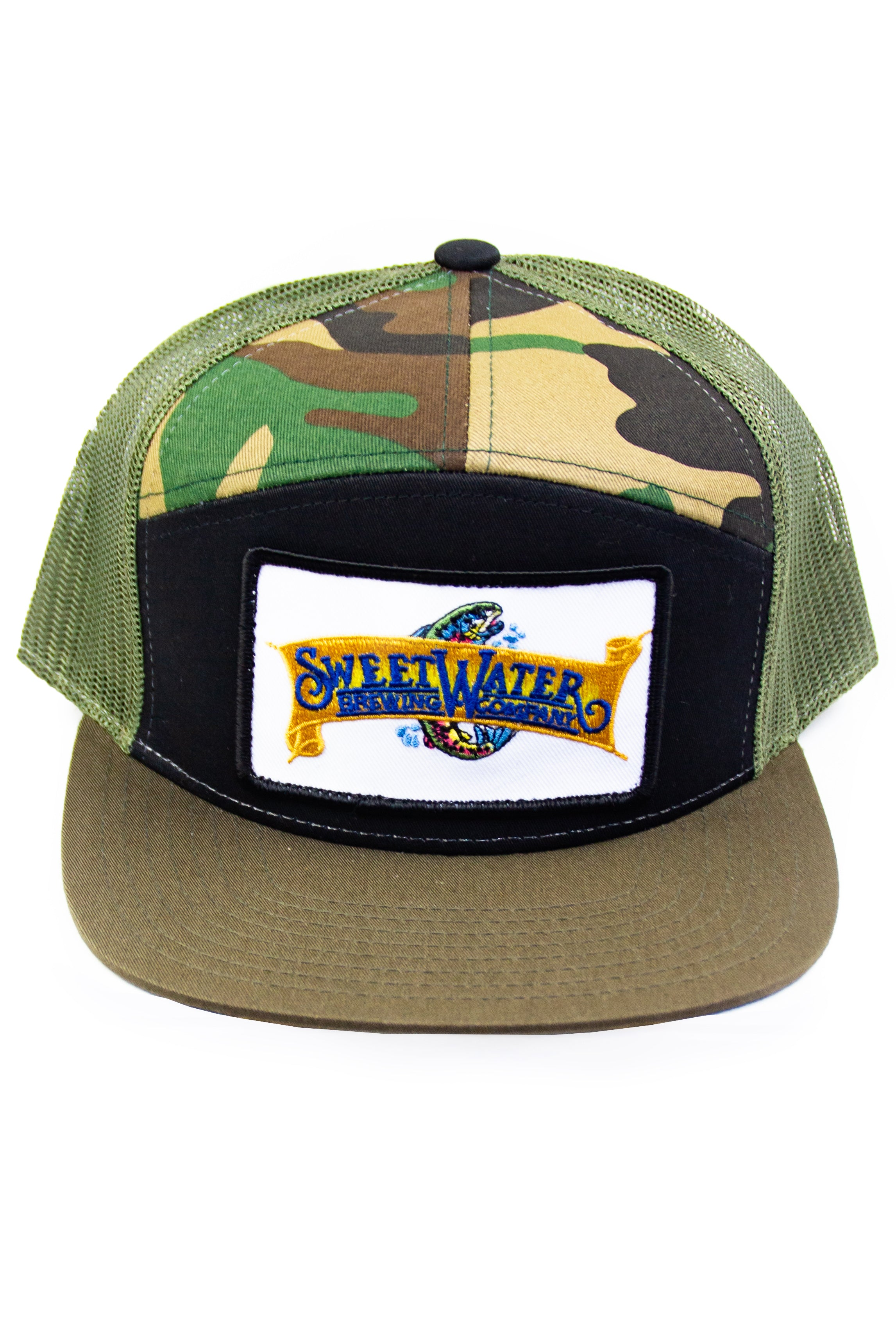 7-Panel Trucker Hat – SweetWater Brewery Outfitters ee613a23c04