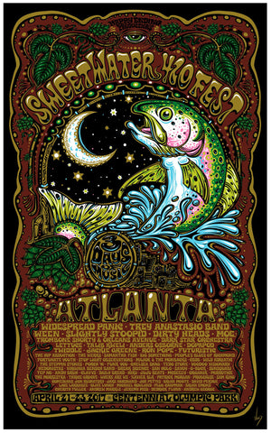 420 Fest Jeff Wood Poster