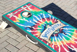 Tie Dye Corn Hole Board Set