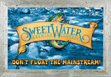 SweetWater Blue Logo Mirror