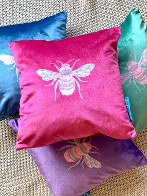 jewel velvet cushions