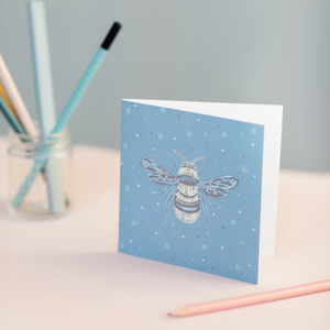 Honey Bee Design Luxury Blank Occasion Greeting Card