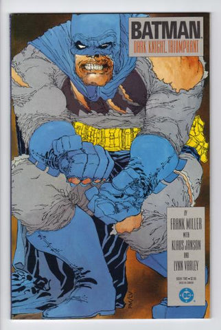 Cover of Batman: The Dark Knight Returns Book 2 by Frank Miller