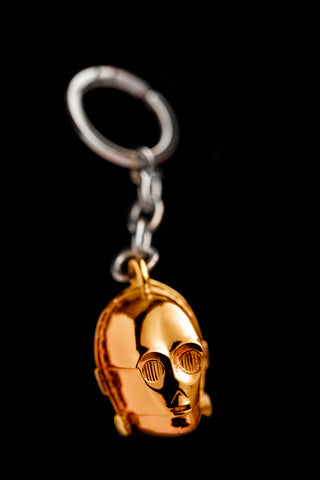 C-3PO Keychain May the 4th be with You R2D2 C3PO
