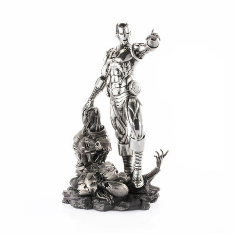 rs figures iron man and ultron replica