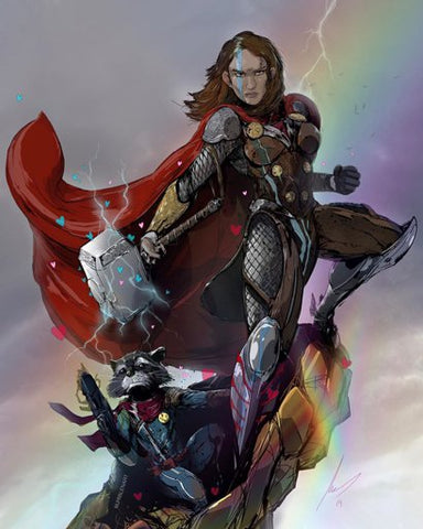 Might Thor Jane Foster Thor Love and Thunder