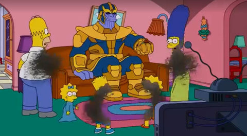 Simpsons Marvel Cameos
