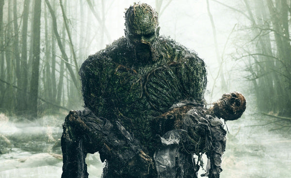 Promotional image for the 2019 short-lived series, Swamp-Thing.
