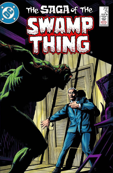 Alan Moore's explosive first issue: The Saga of the Swamp-Thing #21 (1984)