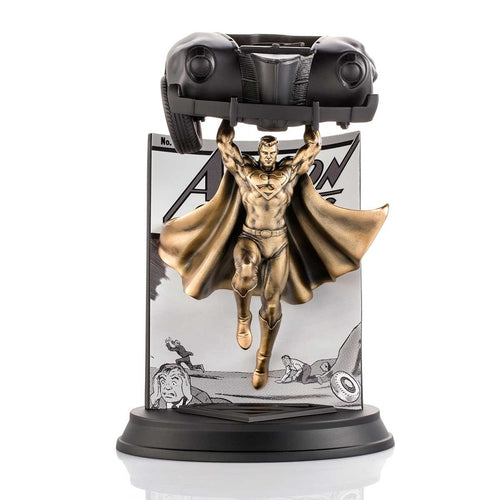 royal selangor hand finished dc collection pewter limited edition gilt superman action comics 1