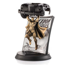 Load image into Gallery viewer, royal selangor hand finished dc collection pewter limited edition gilt superman action comics 1