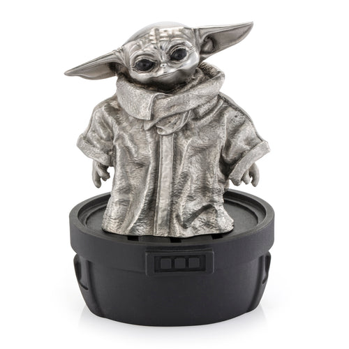 [Pre-Order] Royal Selangor Hand Finished Star Wars Collection Pewter Grogu Figurine