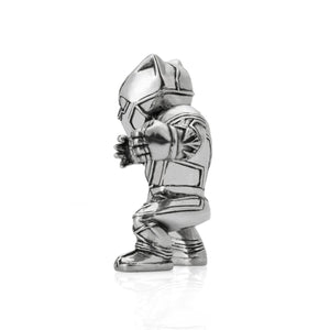 royal selangor hand finished marvel collection pewter black panther miniature figurine