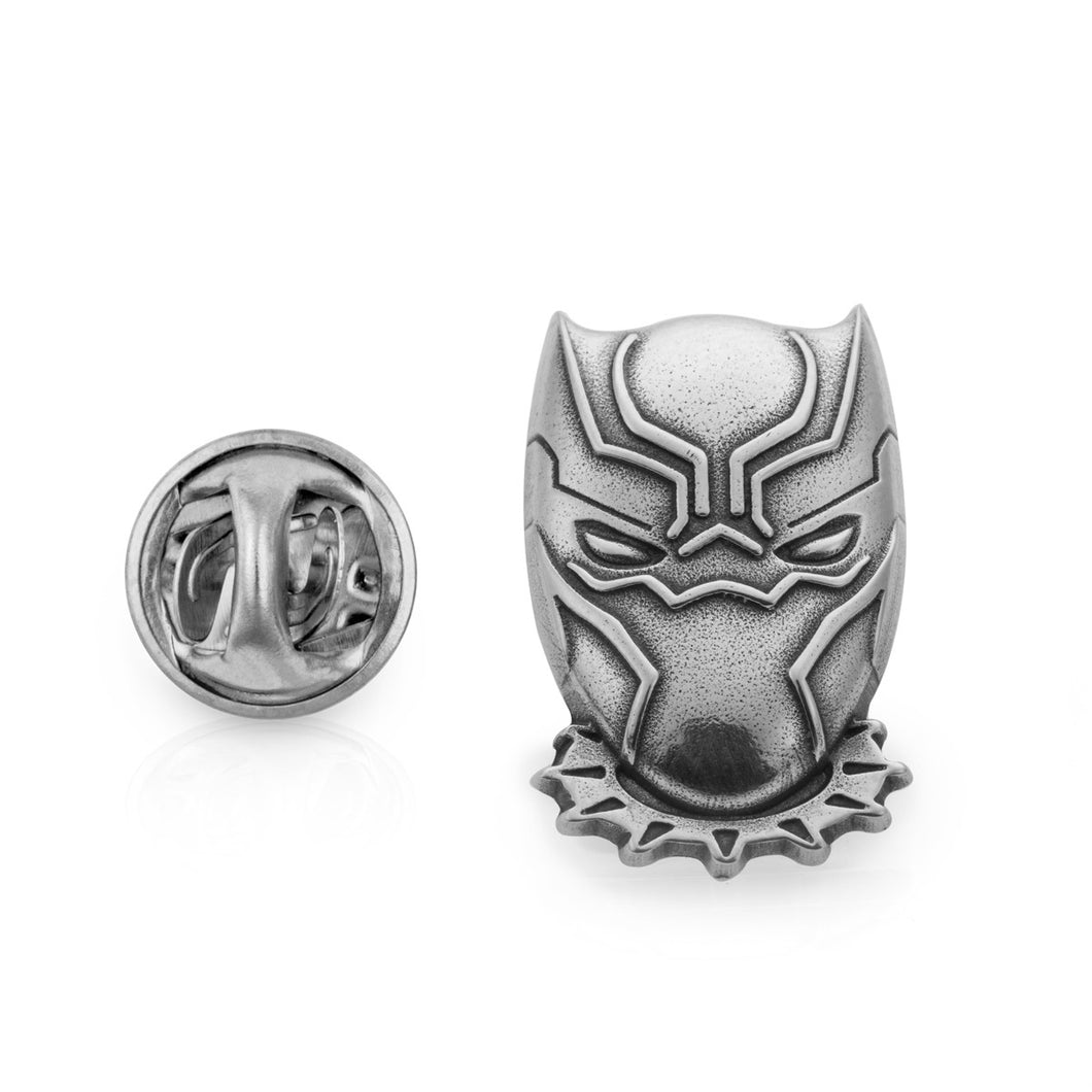 Royal Selangor Hand Finished Marvel Collection Pewter Black Panther Lapel Pin