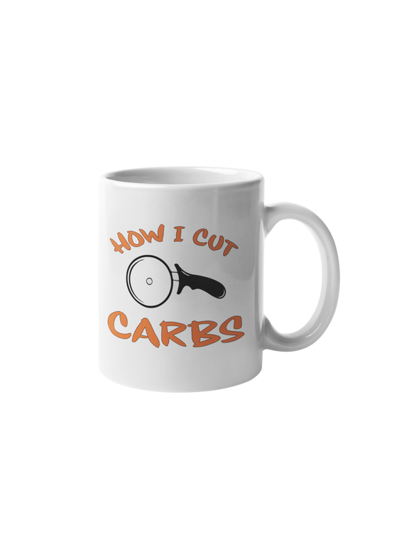 How I Cut Carbs Coffee Mug