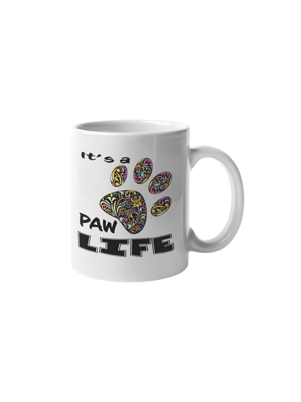 It's A Paw Life Coffee Mug