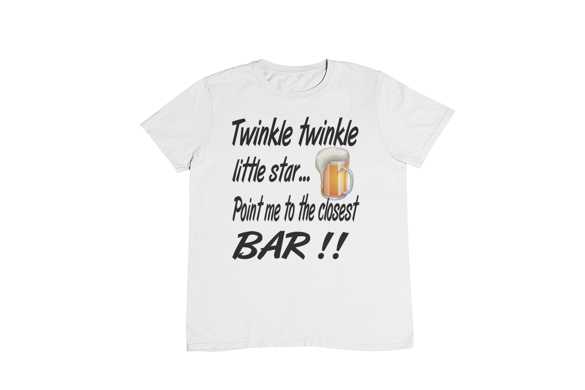 8951115ec Twinkle Twinkle Little Star Point Me To The Closest Bar – madprinter
