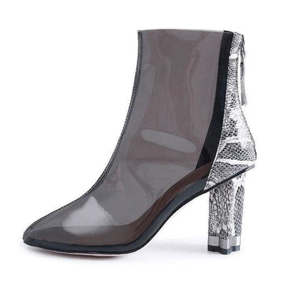 Bottines Serpent<br> Transparente - Chaussures