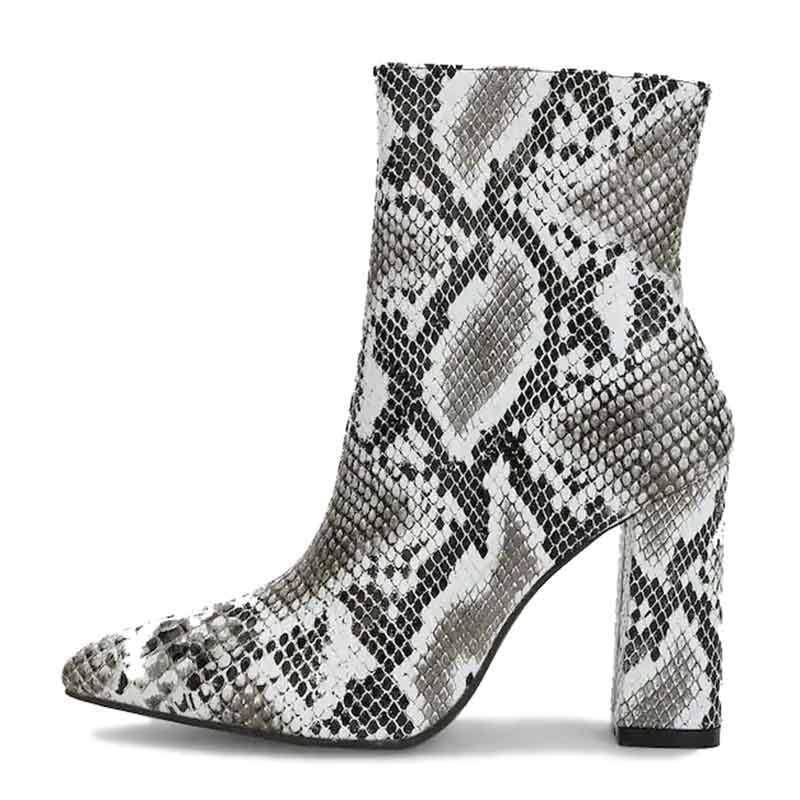 Bottines Peau de Serpent | Instinct Serpent