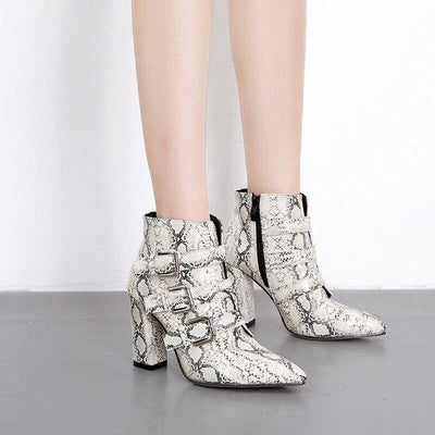 Bottines Serpent<br> Evelyn - Chaussures