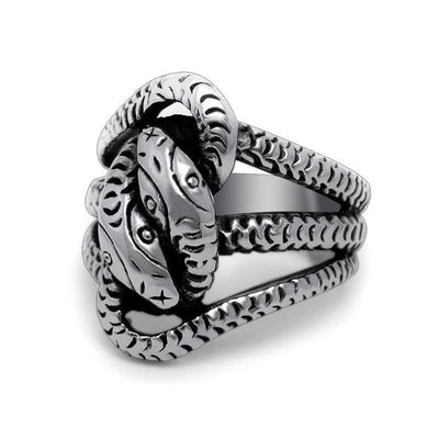 Bague Deux Serpents | Instinct Serpent