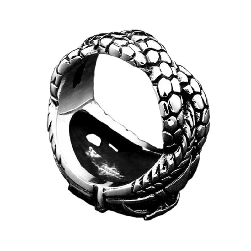 Bague Serpent Émeraude | Instinct Serpent
