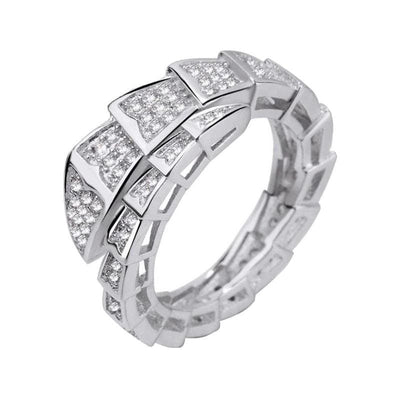 bague serpent zirconium futur
