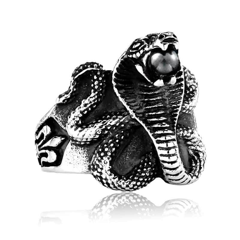 Bague Cobra Homme | Instinct Serpent