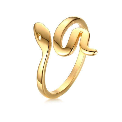 Bague Serpent Or 18 Carats | Instinct Serpent