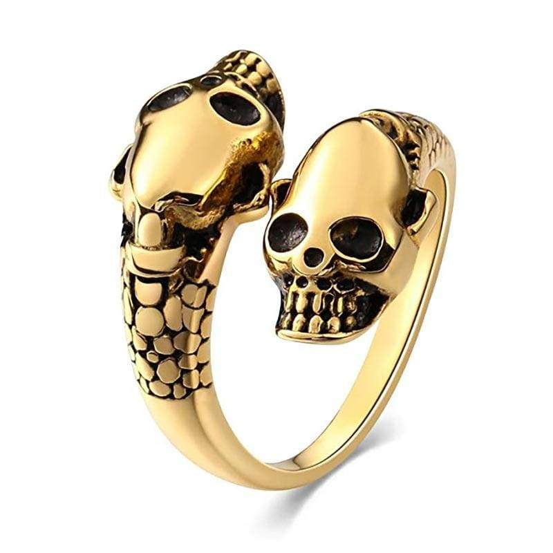 Bague Serpent Or Jaune | Instinct Serpent