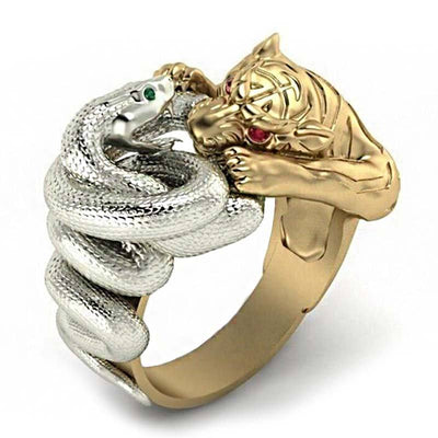 Bague Tigre et Serpent | Instinct Serpent
