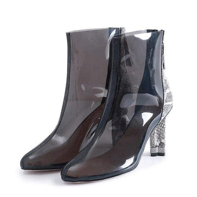 Bottines Serpent Transparente | Instinct Serpent