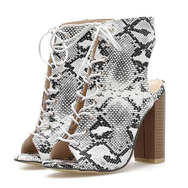 Bottines Style Python | Instinct Serpent