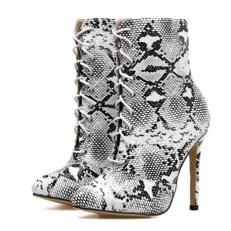 Bottines Talons Serpent | Instinct Serpent