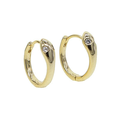boucles d'oreilles serpent eyes
