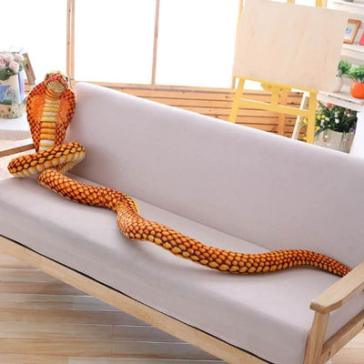 peluche serpent cobra 2.1m