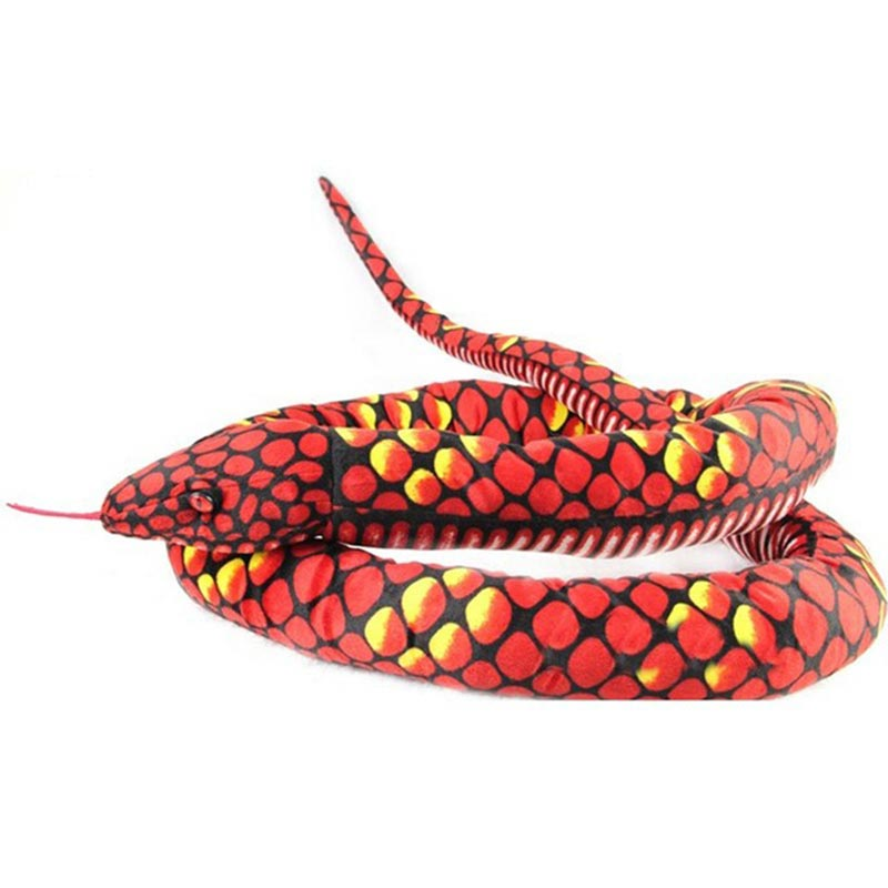 Peluche Serpent Rouge