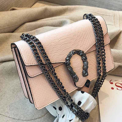 Sac Serpent<br> Python Rose - Sac