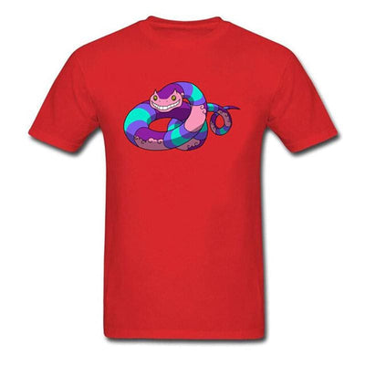 T-Shirt Serpent<br> Poison - XS / ROUGE - Tshirt