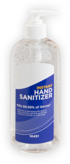Large Bottles of Hand Sanitizer from Body Armor Outlet