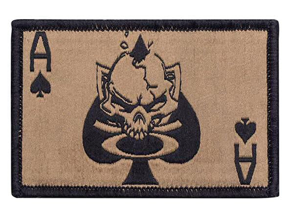 Oakley - SI Death Card Patch, Gold