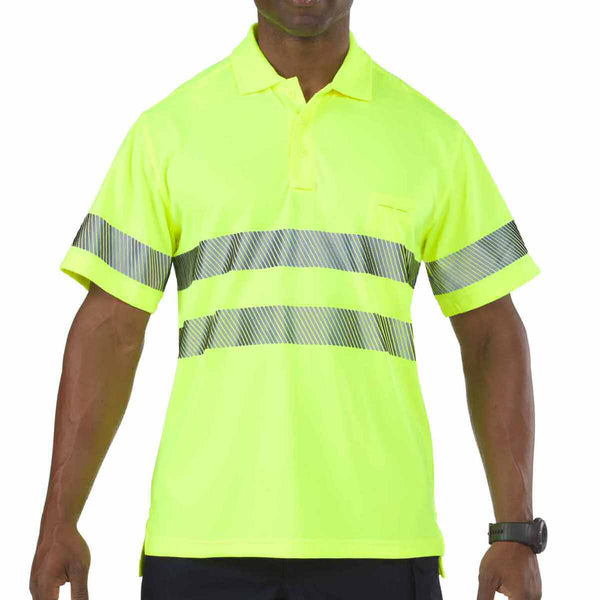 5.11 Tactical Hi-Vis Short Sleeve Polo