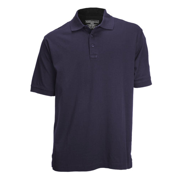 5.11 Tactical Short Sleeve Jersey Polo, Men's, Dark Navy