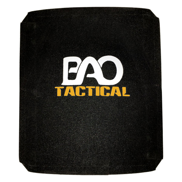 BAO Tactical 3800 Hard Armor Plate - III, SA, 10x12, Full Cut, Multi-Curve
