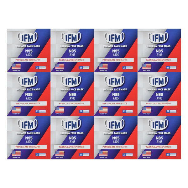 Indiana Face Mask (IFM) N95 (Case of 300)