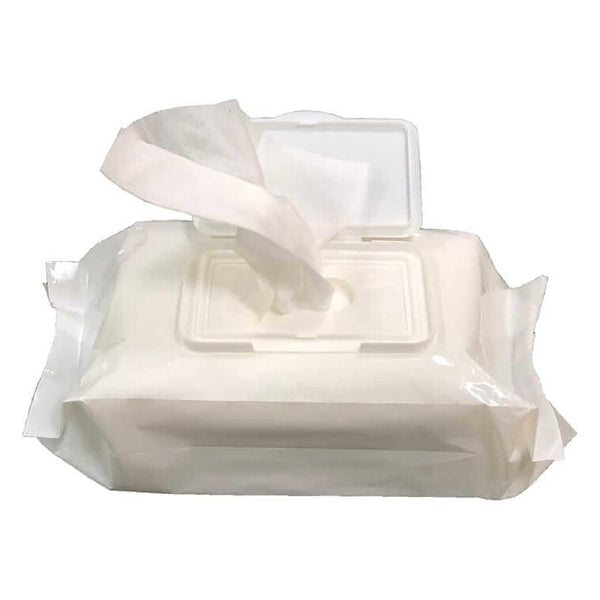 Simply Alcohol Sanitizing Wipes, box of 50