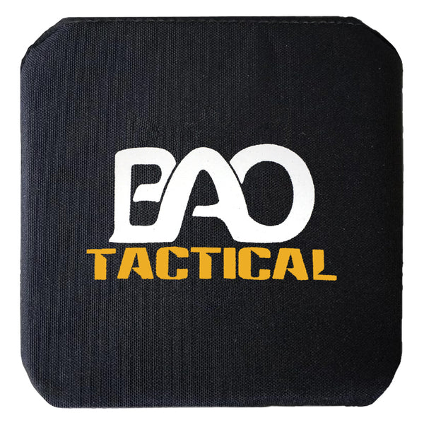 BAO Tactical Pair of 1155 Level IV Side Plates, Single Curve, 6x6